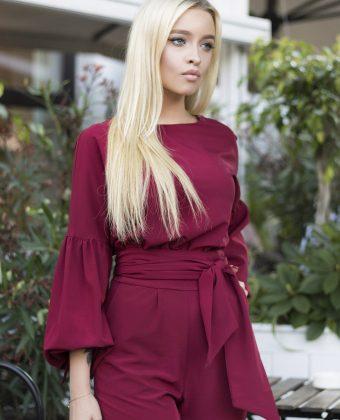 걸스 믹시 스웨터 드레스